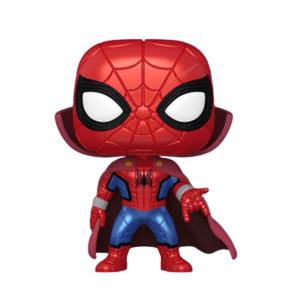 Marvel What If Zombie Hunter Spider-Man Metallic Pop! Vinyl Figure [Preorder]