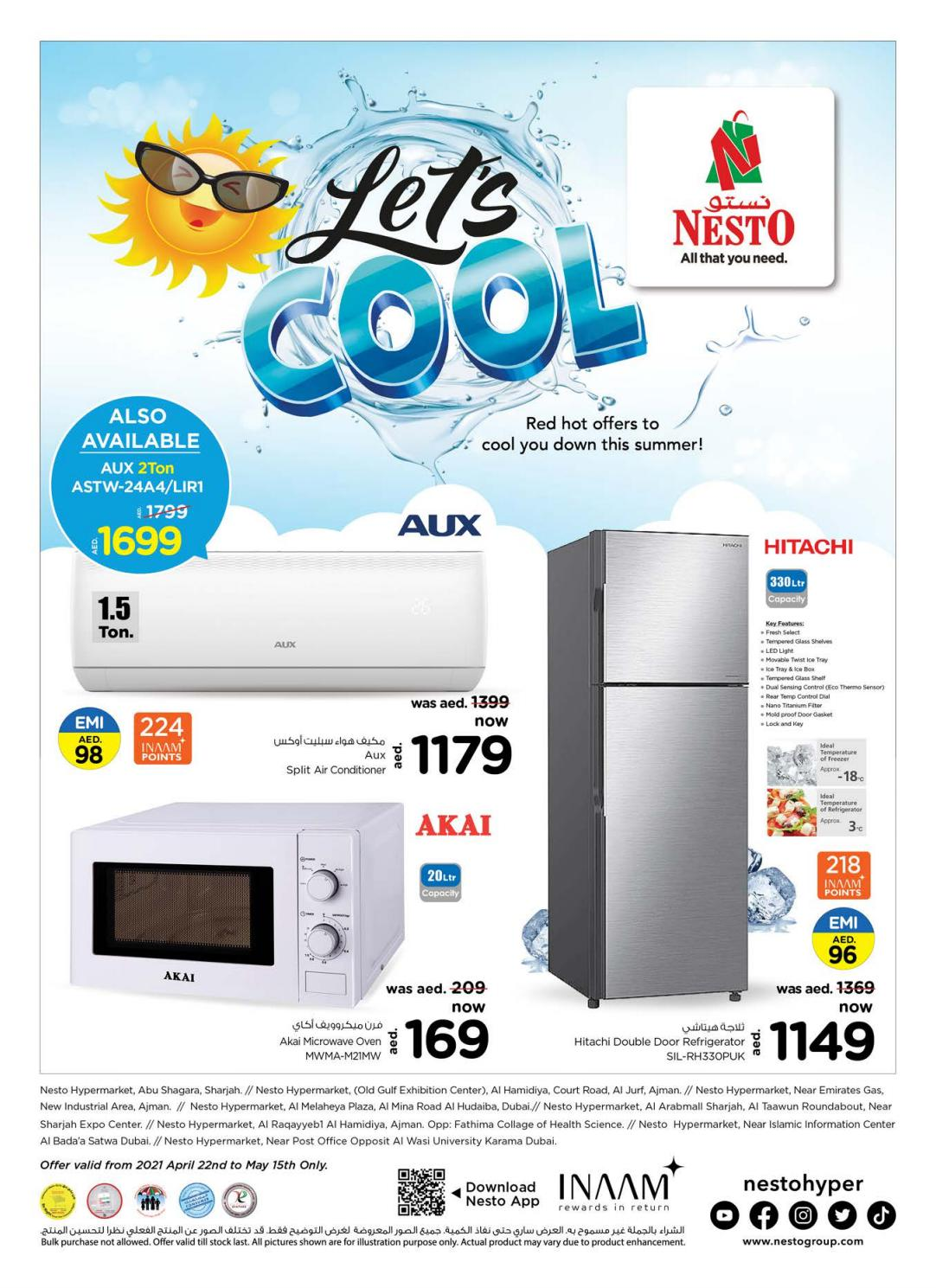 Nesto Hypermarket Cool Offers Deals