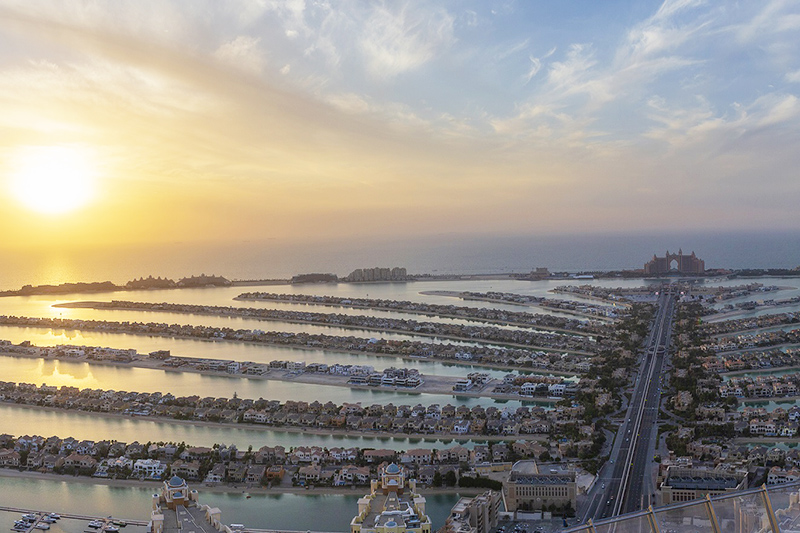 Palm Jumeirah's observation Deck
