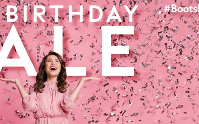 Boots Pharmacy Birthday Sale