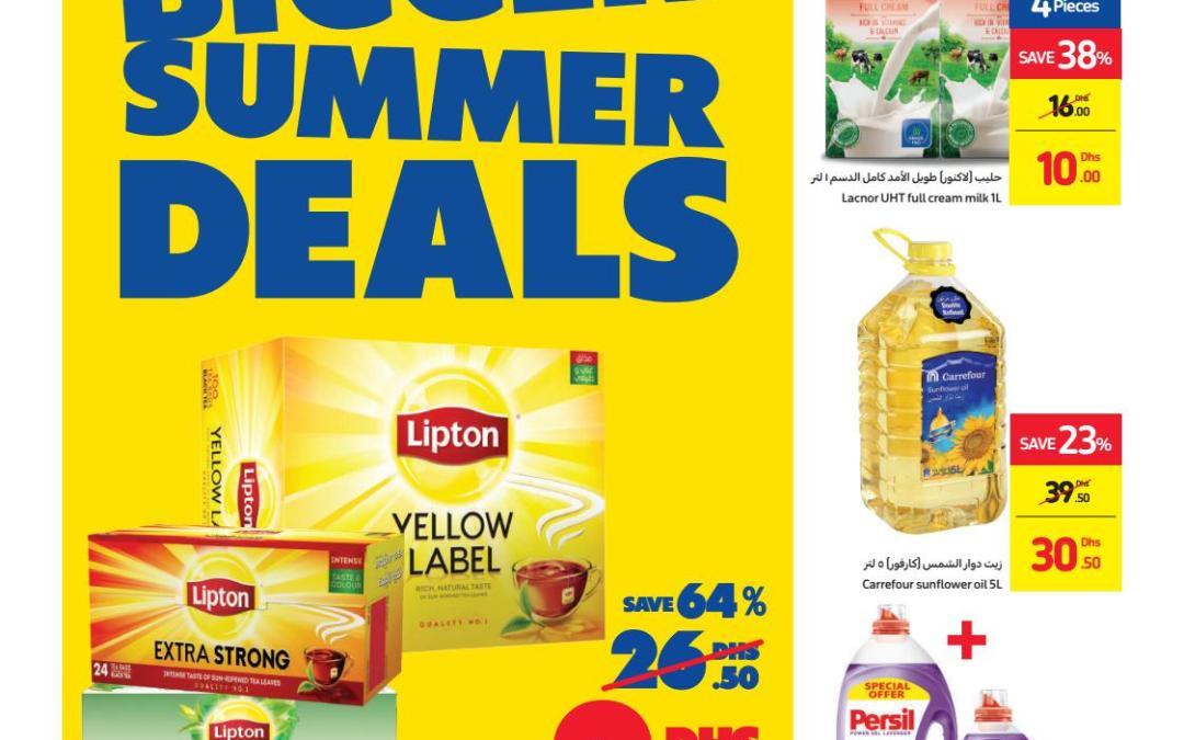 Carrefour Bigger Summer Deals Offers – Catalog