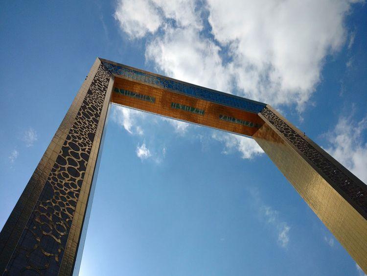 DUBAI FRAME FOR FREE