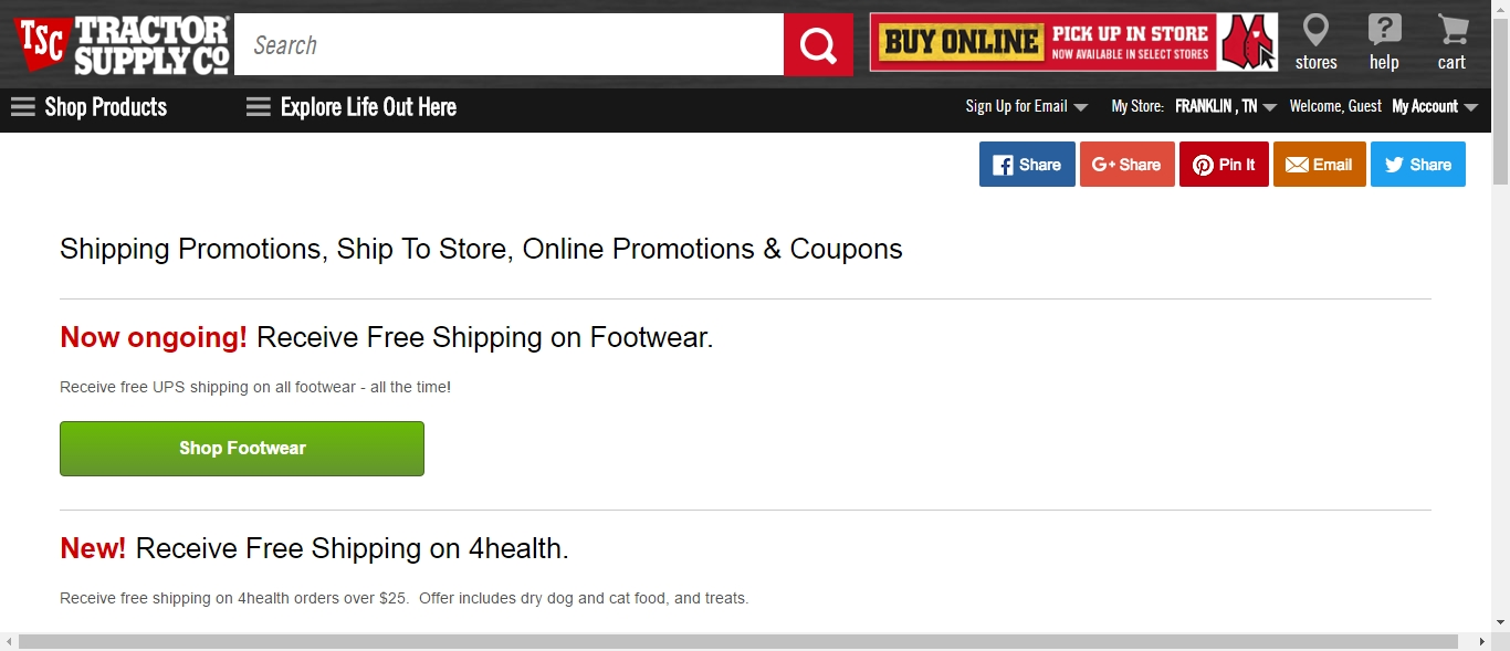 photograph regarding Tractor Supply Coupons Printable referred to as Tsc Discount coupons Printable -