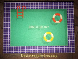 Birchbox August 2015 Box 3 2