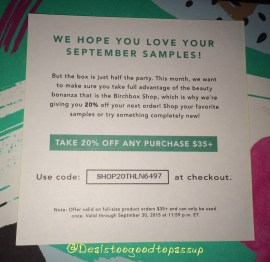 Birchbox 2 September 2015 2