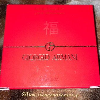 Giorgio Armani Chinese New Year Highlighting Palette Limited Edition