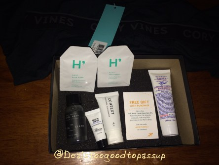 Birchbox Man July 2016