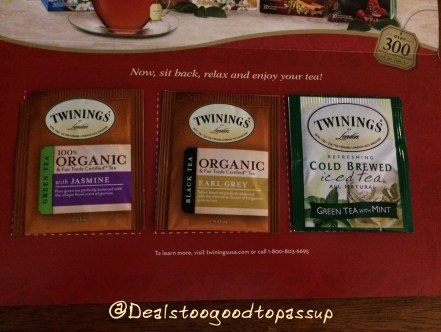 Twinnings Tea Freebie