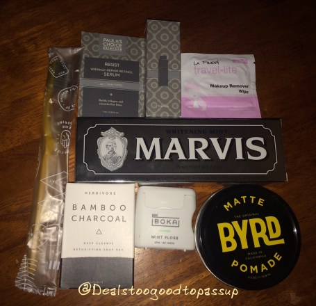 Birchbox Man Points Haul