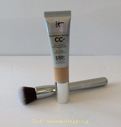 It Cosmetics Cc Cream PLus Free It Brushes For Ulta 101 Airbrush Foundation with Purchase 2