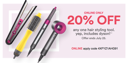 Ulta 20% Off Prestige Coupons 2020 One Hair Tool, Includes Dyson