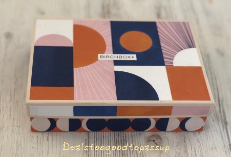 Birchbox March 2020 Review Box Design