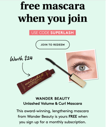 Birchbox Startup Promo Code March 2020 SUPERLASH