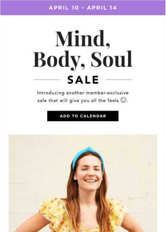 FabFitFun Mind, Body, Soul Sale 2020