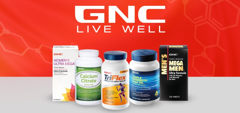 Up to 80% Off Select GNC Products