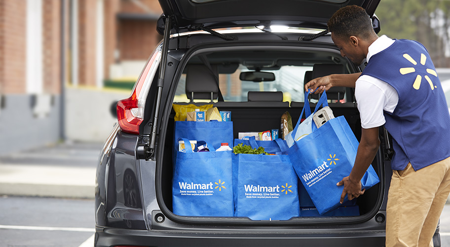 $10 Off First Walmart Grocery Pickup