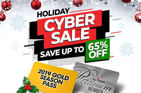 Six Flags Black Friday/Cyber Monday Deals - Deal Posted