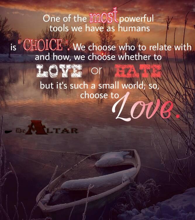 I CHOOSE LOVE – Micheals Kingsley