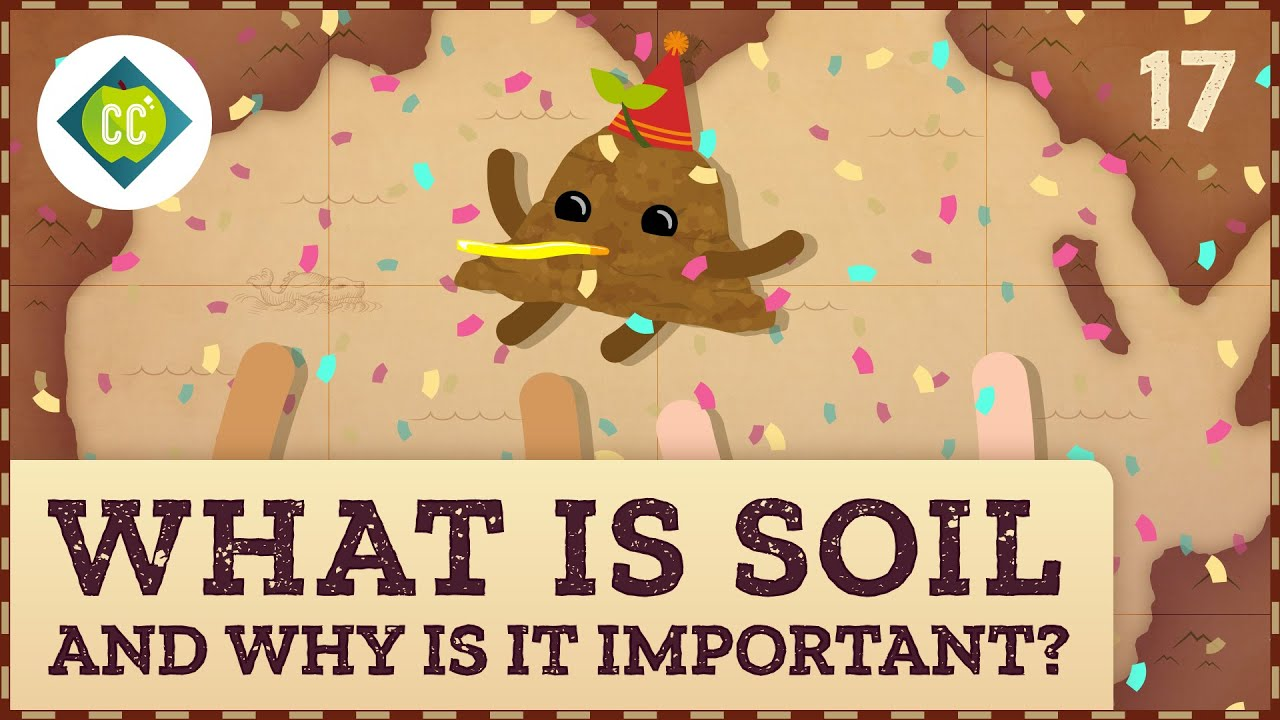 What Is Soil (and Why Is It Important)?: Crash Course Geography #17