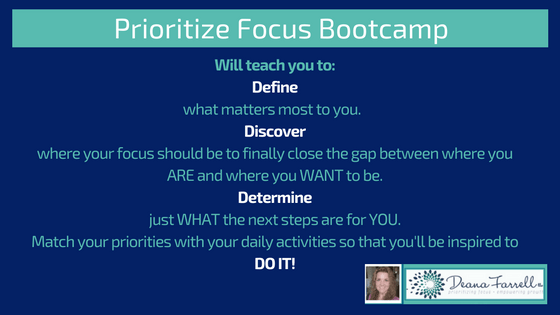 Prioritize Focus Bootcamp