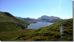 First glimpse of Loch Kernsary