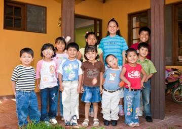 children at casa de amor