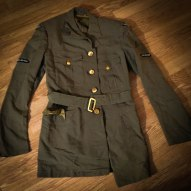 The 1958 RCAF uniform of my father, Bert Broughton.