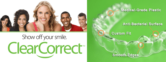 Thousands have straightened their teeth with ClearCorrect Invisible Braces