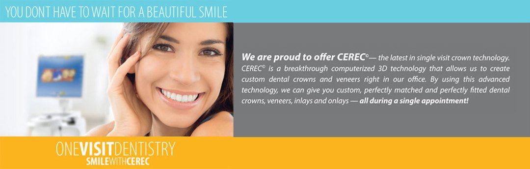 One Visit Dentistry - Smile With Ceric