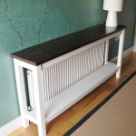 Deanery Hall Table Radiator Cover With Shelf And Hand Painted Finish Deanery Furniture