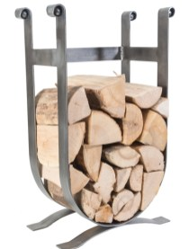 Low-Log-Cradle-U-shaped-log-H:710mm-W:405mm-produced-by-dean-forge-