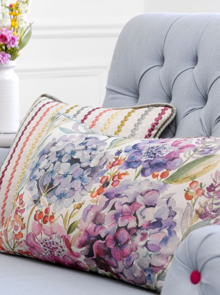 Colourful pure heavy cotton or linen cushions for your living room