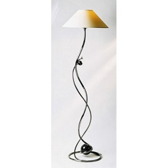 "Ball Standard Lamp with 12"" shade."
