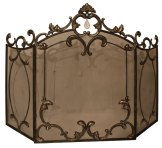Elegant period fire guard, styles and availability may vary.