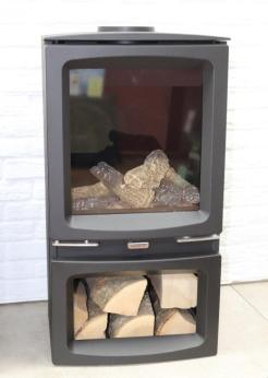Ex-Display-Gazco-Vogue-Midline-4kW-Gas-Stove