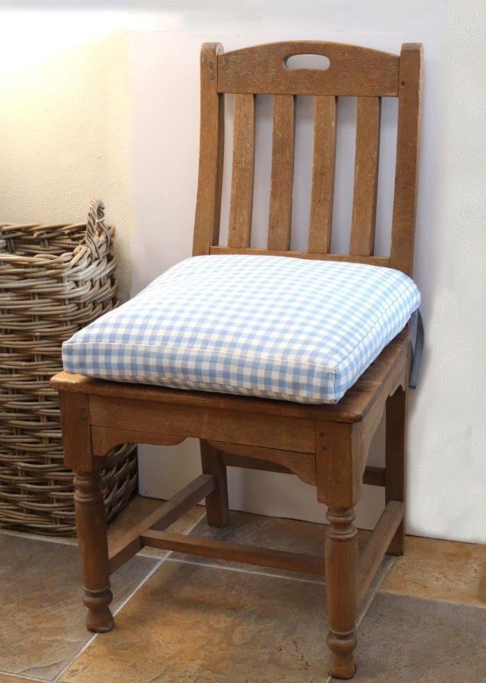 Wooden Farmhouse Kitchen Chair