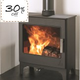 Woodburn Slimline 5 Eco 5kw Woodburning Stove