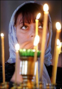 Russian Orthodox at Compline