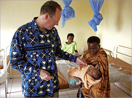 Dr. Paul Farmer in Rawanda