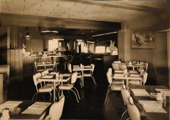 original Stockyards Cafe interior - photo from Stockyards Restaurant's Facebook page