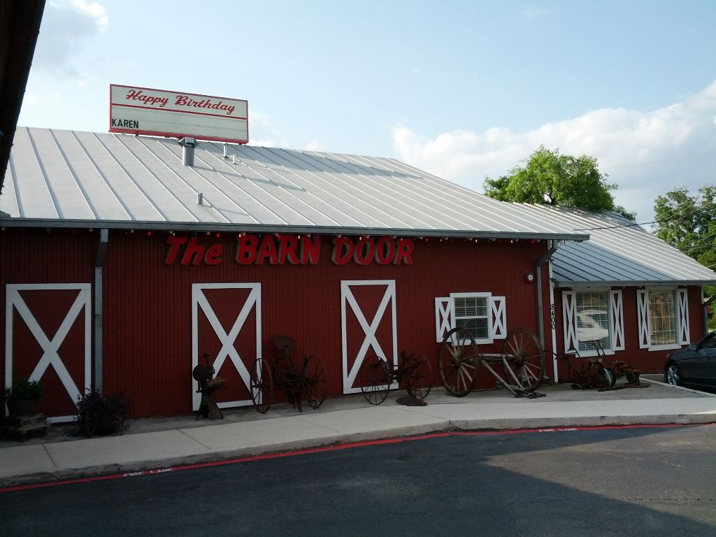 The Barn Door San Antonio Texas Le Continental