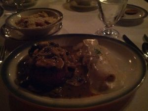 Old Trieste dinner