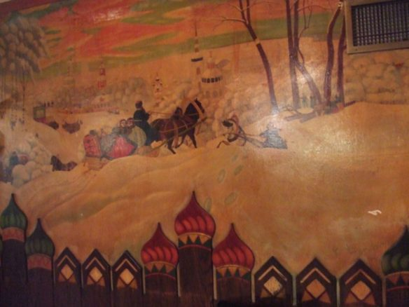 mural in the Dr. Zhivago Room - photo by The Jab, 2010
