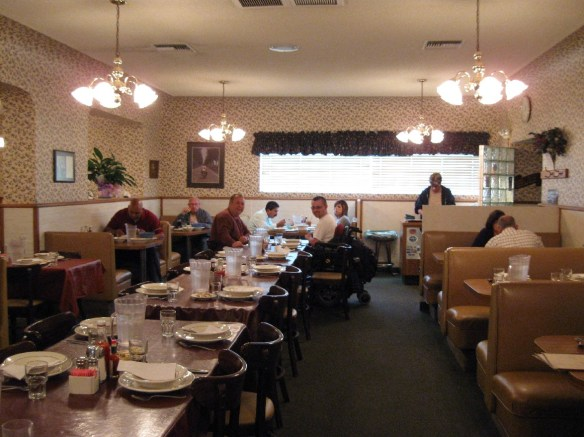 Wool Growers dining room - photo by Darryl Musick on wheelstraveler.blogspot.com