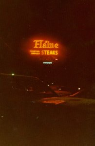 sign in 1970s - photo by The Flame facebook group