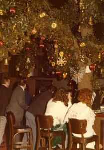 tree lounge in the 1970s, - photo from The Flame facebook page