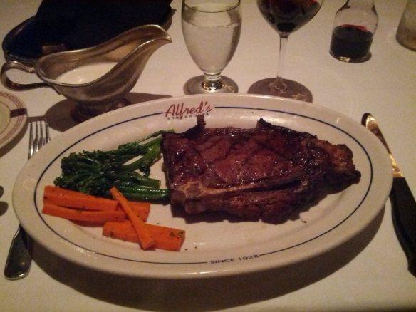 bone-in New York steak - photo by Dean Curtis