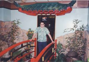 me at The Pagoda, 1999
