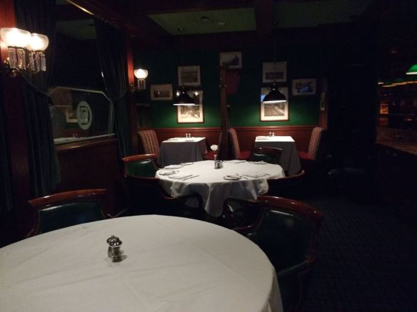 Pacific Dining Car dining room