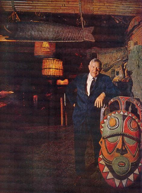 Trader Vic, 1902-1984 (photo taken at San Francisco location)